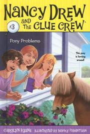 Cover of: Pony Problems | Carolyn Keene
