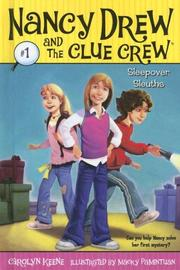 Cover of: Sleepover Sleuths by Carolyn Keene