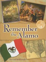 Cover of: Remember the Alamo (Events in American History) by Bob Temple