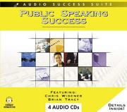 Cover of: Public Speaking Success by Brian Tracy