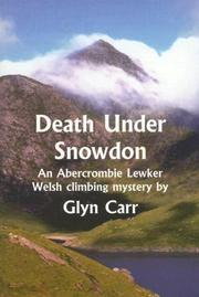 Cover of: Death Under Snowdon (Rue Morgue Vintage Mystery) | Glyn Carr