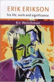 Cover of: Erik Erikson | Welchman