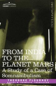Cover of: From India to the Planet Mars | Theodore Flournoy