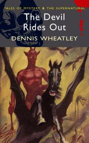 Cover of: The Devil Rides Out | Dennis Wheatley