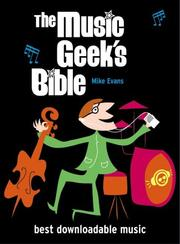 Cover of: The Music Geek's Bible by Mike Evans