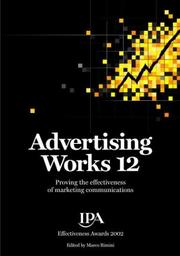 Cover of: Advertising Works 12 | Tim Broadbent
