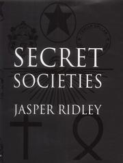 Cover of: Secret Societies | Jasper Ridley