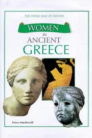 Cover of: Women in Ancient Greece (Other Half of History) | Fiona MacDonald