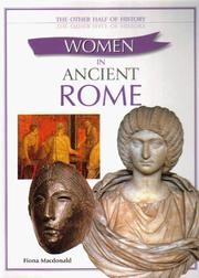 Cover of: Women in Ancient Rome (Other Half of History) by Fiona MacDonald