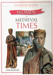 Cover of: Women in Medieval Times (Other Half of History) | Fiona MacDonald