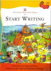 Cover of: Teacher's Resource Book (Start Writing) | Pie Corbett