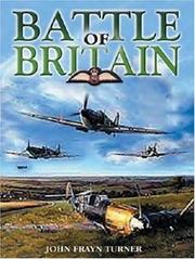 Cover of: Battle of Britain by John Frayn Turner