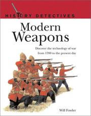 Cover of: Modern Weapons by Will Fowler