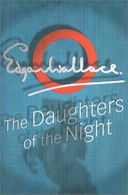 Cover of: Daughters Of The Night by Edgar Wallace