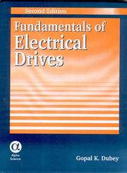Cover of: Fundamentals of Electrical Drives by G. K. Dubey