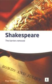 Cover of: Shakespeare | Paul Innes