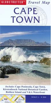 Cover of: Cape Town Travel Map | Globetrotter