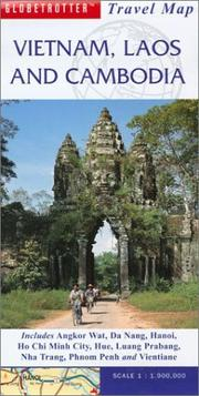 Cover of: Vietnam, Laos and Cambodia Travel Map | Ltd. New Holland Publishers