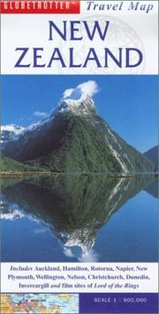 Cover of: New Zealand Travel Map | Globetrotter