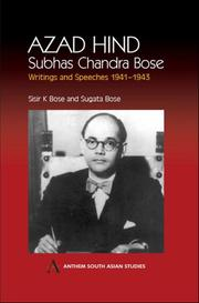 Cover of: Azad Hind | Subhas Chandra Bose