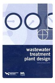 Cover of: Wastewater Treatment Plant Design | P. A. Vesilind