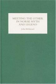 Cover of: Meeting the Other in Norse Myth and Legend | John McKinnell