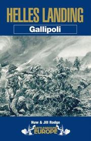 Cover of: Gallipoli by Huw Rodge