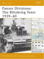 Cover of: Panzer Divisions | Pier Battistelli