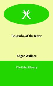 Cover of: Bosambo of the river | Edgar Wallace