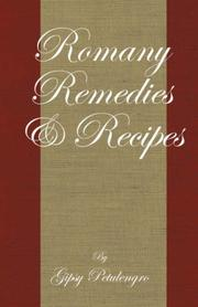 Cover of: Romany remedies and recipes | Gypsy Petulengro