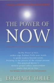 Cover of: THE POWER OF NOW | Eckhart Tolle