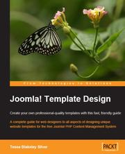 Cover of: Joomla! Template Design | Tessa, Blakeley Silver