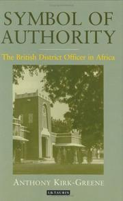 Cover of: Symbol of Authority | Anthony Kirk-Greene
