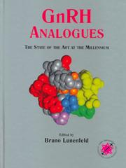 Cover of: GnRH Analogues | B. Lunenfeld