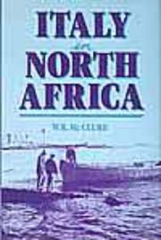 Cover of: Italy in North Africa by W. K. McClure