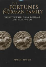 Cover of: The fortunes of a Norman family | Mark S. Hagger