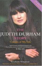 Cover of: The Judith Durham Story by Graham Simpson