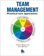 Cover of: Team Management by Charles J. Margerison