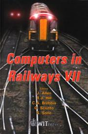Cover of: Computers in railways VII | International Conference on Computers in Railways (7th 2000 Bologna, Italy)