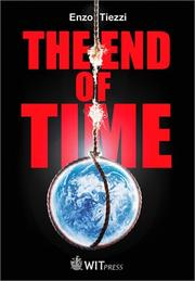 Cover of: End of time | Enzo Tiezzi