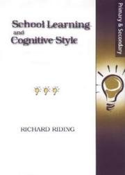 Cover of: School Learning and Cognitive Styles by Richard Riding