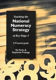 Cover of: Teaching the National Strategy at Key Stage 3 | Pat Perks