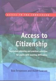 Cover of: Access to Citizenship by Ann Fergusson