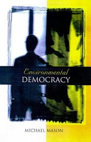 Cover of: Environmental Democracy | Michael Mason