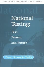 Cover of: National Testing | Diane Shorrocks-Taylor