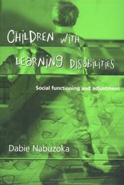 Cover of: Children with Learning Disabilities by Dabie Nabuzoka