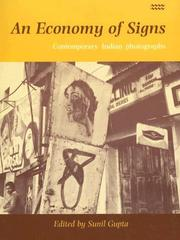 Cover of: An Economy of Signs | Sunil Gupta