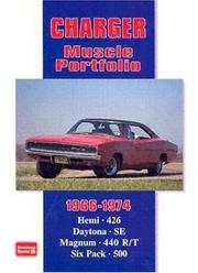 Cover of: Charger Muscle Portfolio, 1966-1974 | R. M. Clarke