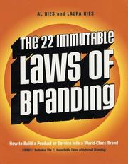 Cover of: The 22 immutable laws of branding | Al Ries