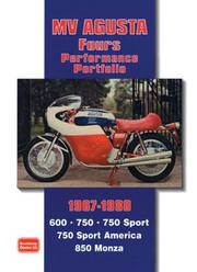 Cover of: MV Agusta Fours 1967-1980 Performance Portfolio | R. M. Clarke